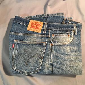 Levi 517 boot cut zipper front jeans #4